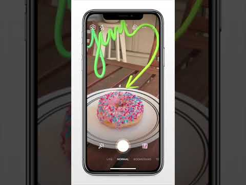 Facebook Augmented Reality 3D Drawing Promo - TechCrunch