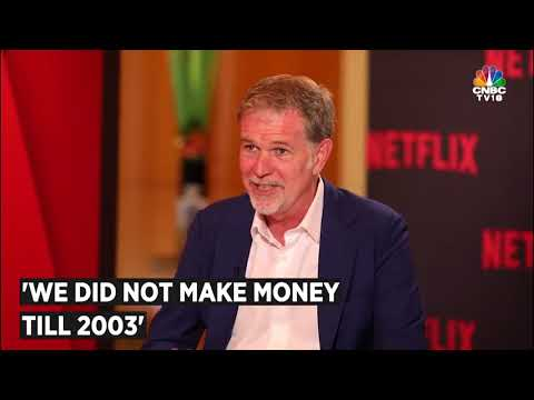 NETFLIX CEO Reed Hastings Tells His SUCCESS STORY  CNBC TV18