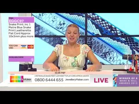 Jewellery Making with Chips and Nuggets - JewelleryMaker LIVE (AM) 22/07/2014