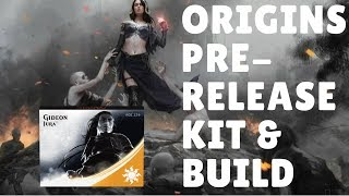 MTG Origins Pre-Release Kit & Deck Build! Let's Go!