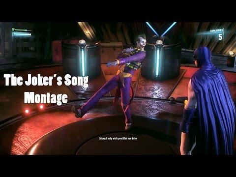 Batman Arkham Knight : The Joker's Song !!! (Clean Montage)