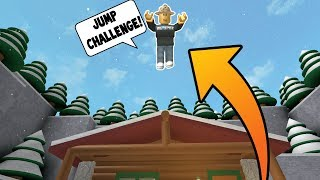 *MUST SEE! * JUMP ONLY CHALLENGE! (Roblox Flee The Facility)
