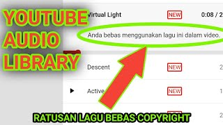 CARA DOWNLOAD YOUTUBE AUDIO LIBRARY di HP Android