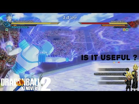 Moves Nobody Uses One-Handed Kamehameha MK.II ! - Xenoverse 2