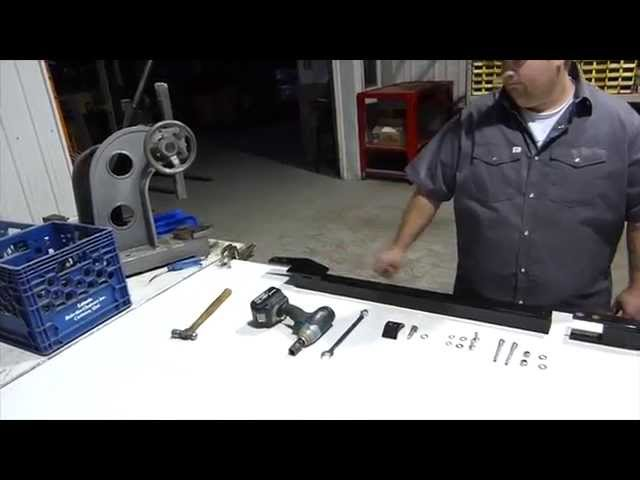 Track N Go Coil-03-Kit Installation Dodge 2500/3500 2014 and UP with 5' 7'' cargo box  (English)