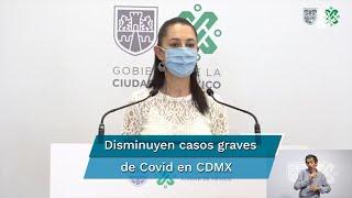 La jefa de Gobierno hizo un reconocimiento a la población y a los empresarios, quienes han seguido las medidas para prevenir contagios