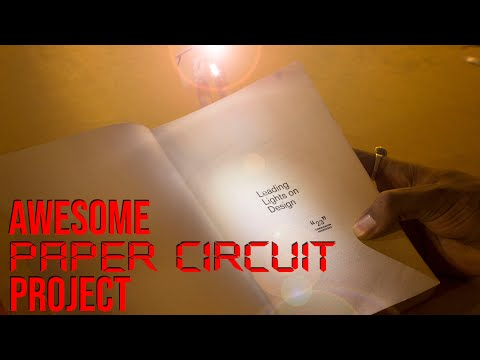 3 Awesome Projects with Paper Circuit