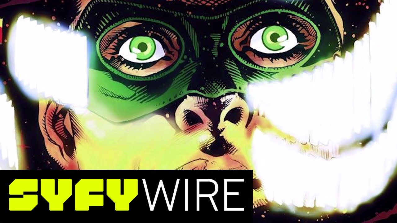 Green Lantern: Earth One Offers a New Take on Hal Jordan | New York  Comic-Con 2017 | SYFY WIRE