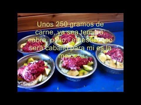 Como preparar comida para galgos es muy sana y f cil de for Como hacer comida facil