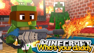 minecraft who s your daddy blowing up iron man s house
