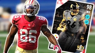 HOW MANY TOUCHDOWNS!?!? 98OVR HINES WARD IS A HACKER! (Madden Ultimate Team)