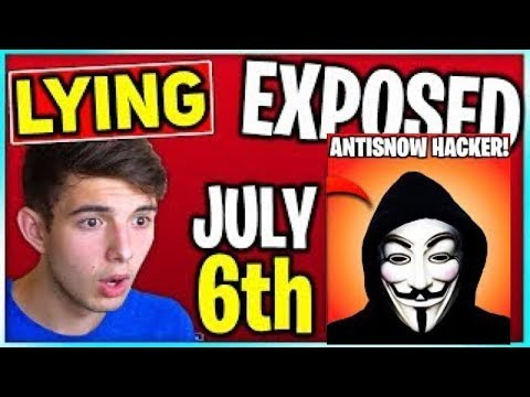 All Fortnite Accounts Deleted On JULY 6th Landon & Jensensnow LIED *ITS FAKE* Proof