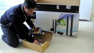 Unboxing Sony BDV N990W Blu Ray/DVD Home Theatre