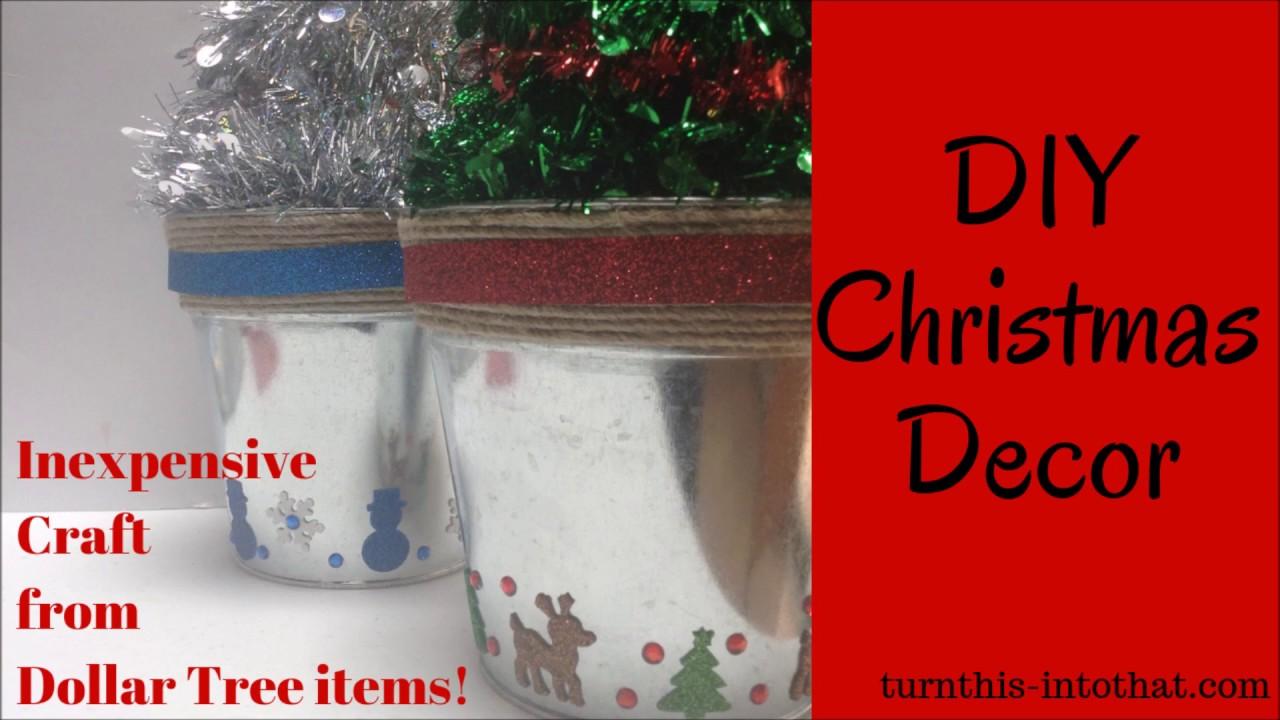 Dollar Tree DIY Christmas Decor – Turn This Into That