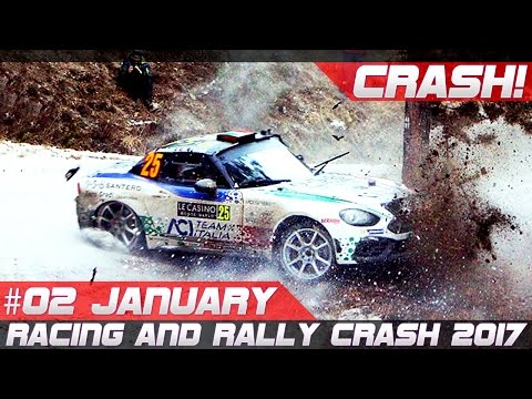 Week 2 January 2017 Monte Carlo Special Racing and Rally Crash Compilation