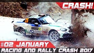 Racing and rally crash compilation week 2 january 2017 monte carlo special