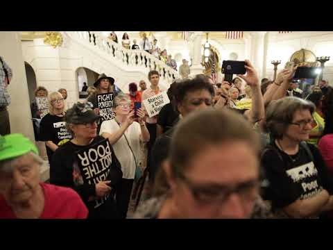 Arrests at Poor People's Campaign rally inside Pa. Capitol