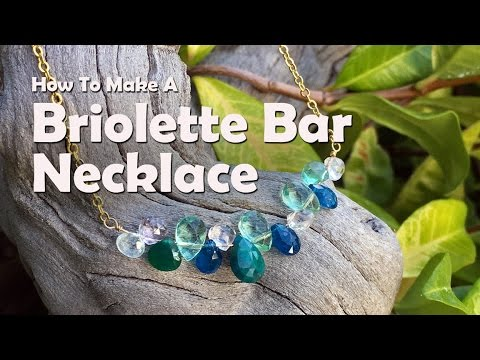 how to make a bar necklace