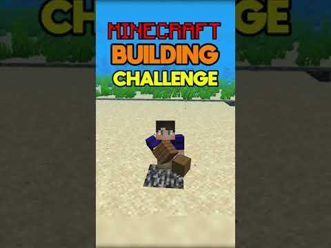 Minecraft Underwater Base Building Challenge