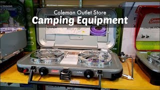 Essential Camping Equipment   Coleman Outlet Store   Coleman Stove Camp Cooking   Amy Learns to Cook