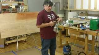 Spray Finishing Systems with Charles Neil, Presented by Woodcraft