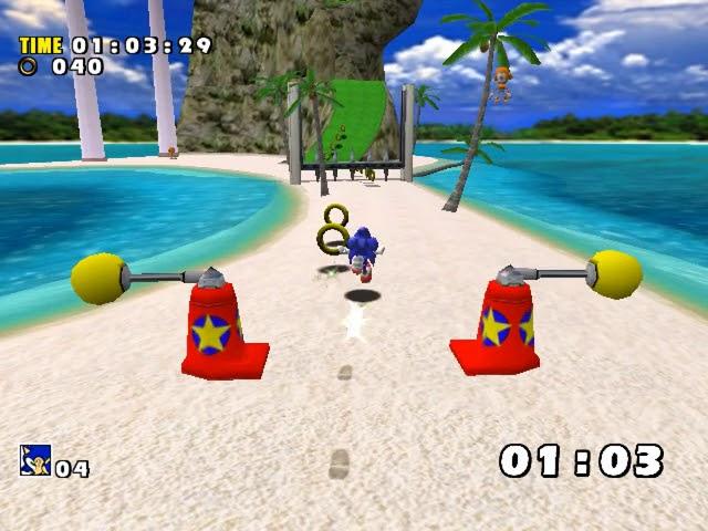 Jouez à Sonic Adventure sur Sega Dreamcast grâce à nos bartops et consoles retrogaming