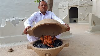 DIY Mud Grill Pot | Portable Clay Oven | Build a Clay Oven in Your Garden | Village Food Secrets