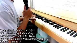Tự Học Đàn Piano] Bài 1 Gặp Mẹ Trong Mơ Pianonguyenkien.com