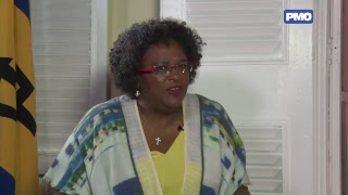 The First Interview - Prime Minister Mottley with David Ellis thumbnail