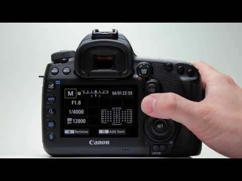 Canon EOS 5D Mark IV: Custom Quick Control Menu