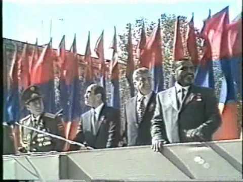 Военный парад в Ереване  ч 3