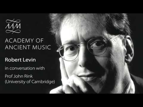 Robert Levin - in conversation with Prof John Rink