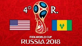 EE.UU. v. SAN VICENTE Y LAS GRANADINAS - CONCACAF 2018 FIFA World Cup - GRUPO C