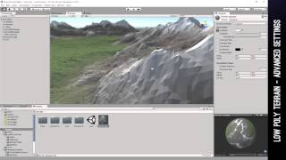 Low Poly Terrain Asset - Advanced Settings