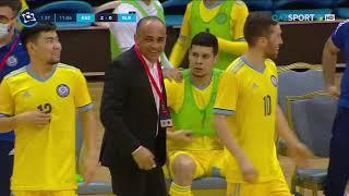 Обзор матча Казахстан Беларусь 5 2 Отборочный турнир EURO 2022