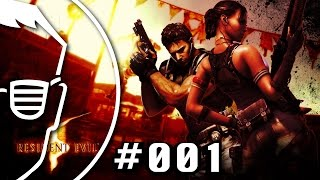 RESIDENT EVIL 5 Coop Ps4 gameplay (german/deutsch) #001 Kapitel 1-1