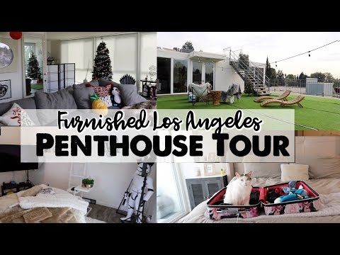 Furnished Hollywood Penthouse Tour!
