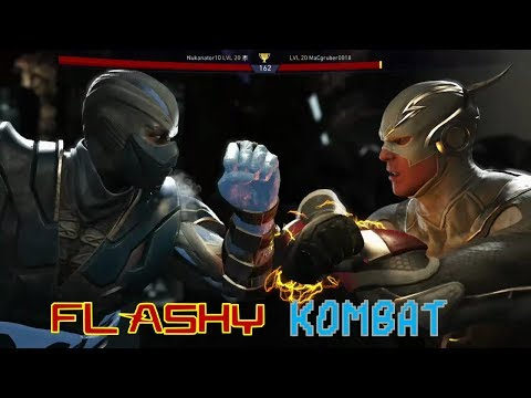 Injustice 2 Online Heroic Matchups! TIME FOR SOME FLASHY KOMBAT!