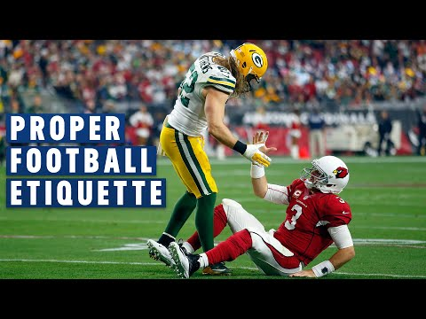 Proper Football Etiquette: Please & Thank You Goes a Long Way | NFL Films Presents