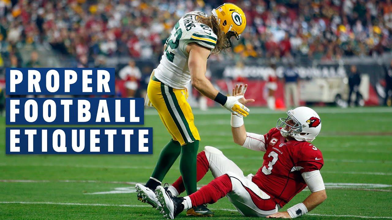 Proper Football Etiquette: Please & Thank You Goes a Long Way   NFL Films Presents