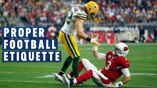 Proper Football Etiquette: Please & Thank You Goes a Long Way | NFL Films Presents thumbnail