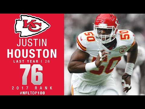 #76: Justin Houston (LB, Chiefs) | Top 100 Players of 2017 | NFL