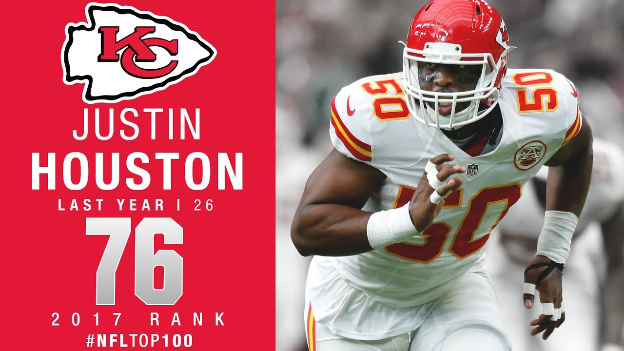 76 Justin Houston LB Chiefs Top 100 Players of 2017