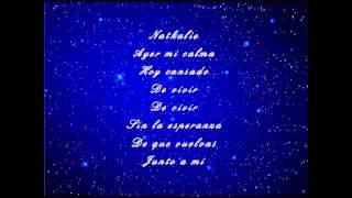 Julio Iglesias - Nathalie (with lyrics on screen)