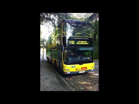 BVG Linie M48 Alexanderplatz - Busseallee