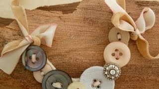How to Make a Button Necklace   by Michele Baratta