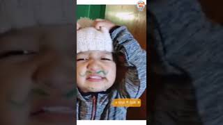 Funny Baby Playing With talk and phone about money  - Baby imdoor Video