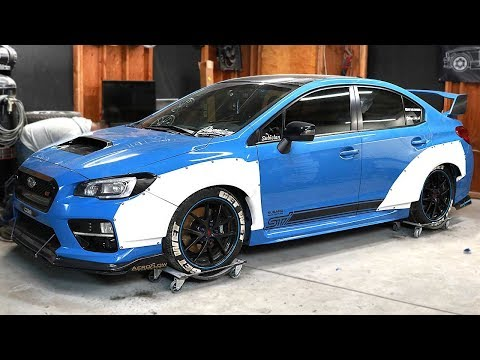 DIY Widebody 2016 WRX STI – Pt 2
