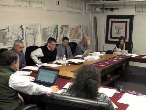 Ticonderoga Town Board Meeting  12-12-13