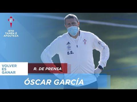 """Óscar García: """"Vamos a estar preparados para cuando empiece La Liga"""""""
